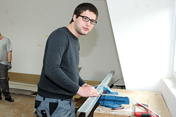 Die BvB kann auch auf eine handwerklich-technische Ausbildung vorbereiten.