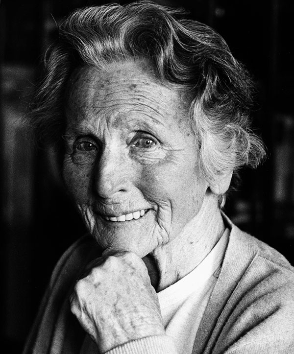 Anna Haag, Gründerin des Anna Haag Mehrgenerationenhauses